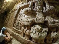 Новость на Newsland: В Гватемале найден огромный фриз майя