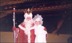 Дед Мороз получил звезду на Аллее славы