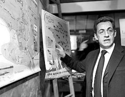 Николя Саркози удается потеснить Германию с лидирующих позиций в Евросоюзе