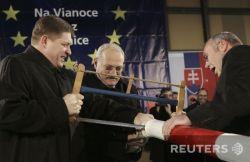 Репортаж с праздничного мероприятия по поводу расширение границ Шенгенской зоны (фото)