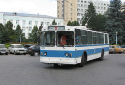 Угонщик троллейбуса использовал его в качестве такси