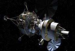 """Экспедиция 2020 года на Луну полетит на пилотируемом аппарате \""""Альтаир\"""""""