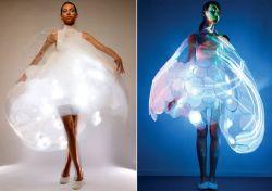 Philips создало платье, которое изменяет цвет, отражая ваше настроение