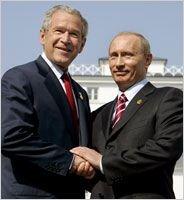 Джордж Буш и Владимир Путин. Два вопроса одному эксперту