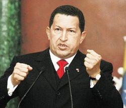 Уго Чавес предложил соседям платить за нефть бананами