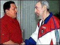 Уго Чавес: Фидель Кастро никогда не умрет