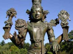 В аэропорту столицы Бангладеш похищены древние статуи бога Вишну