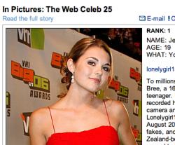 Знаменитости Интернета Web Celeb 25 от Forbes