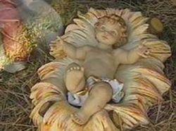 Фигурку младенца Христа оснастили GPS