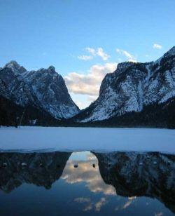 Сказочные горы Доломиты (фото)