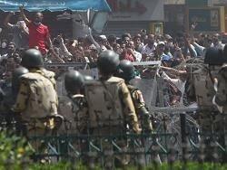 В Египте полицейским выдали боевые патроны