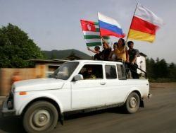 Абхазия и Южная Осетия отмечают годовщину независимости