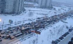 Хроники московских предновогодних пробок