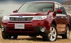 Официальные фото и подробности Subaru Forester 2009