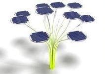 Солнечные деревья – новая технология освещения европейских улиц