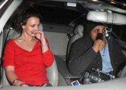 Бритни Спирс провела ночь с одним из преследующих ее папарацци