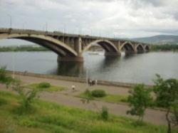 Демонтированный мост через Енисей претендует на звание одного из семи чудес России