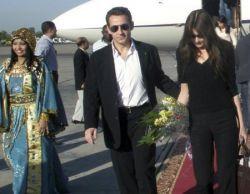 Николя Саркози (Nicolas Sarkozy) и Карла Бруни (Carla Bruni) в Египете (фото)