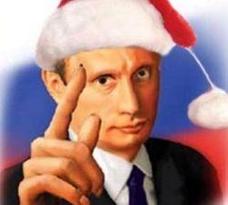 Уникальное предложение: вместо Деда Мороза москвичи могут заказать на дом Владимира Путина