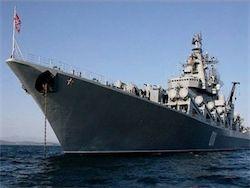 Ракетный крейсер  Варяг  пополнил группировку ВМФ РФ