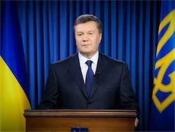 Новость на Newsland: Янукович снял с себя ответственность за разгон митинга в Киеве