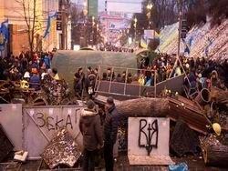 Киевские каштаны под топором Евромайдана