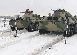 Под Самарой прошли стрельбы новейших БТР-82АМ