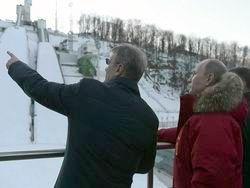 Почему президент РФ лично инспектирует олимпийские объекты
