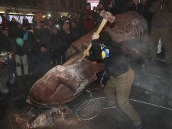 Новость на Newsland: В Одесской области разрушили памятник Ленину