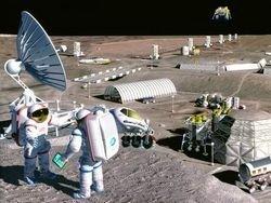 Роскосмос планирует более подробно изучить Марс и Луну