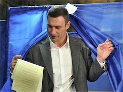 Новость на Newsland: Украина: Кличко объявил о досрочных президентских выборах
