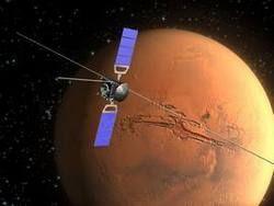 Mars Express отметил 10 лет на орбите Марса