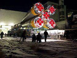 В России создадут самую большую ракету-носитель в мире