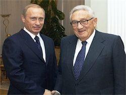 Киссинджер: Путин видит на Украине репетицию смены режима в РФ