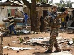 Французские войска попытаются остановить мародерство в ЦАР