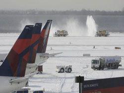 Авиакомпании США потеряли $150 млн из-за морозов