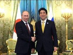 Абэ проведет саммит с Путиным на сочинской Олимпиаде