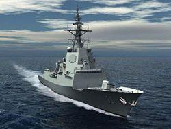 Заложен эсминец Brisbane для ВМС Австралии