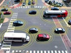 В США автомобили заставят общаться между собой