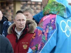 Путин: проведение Олимпиады – способность РФ решать задачи
