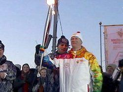 Тысячи жителей Кубани встретили Олимпийский огонь