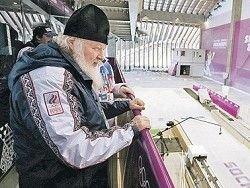 Патриарх отслужит молебен для олимпийской сборной