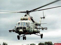 В Омской области разбился вертолет