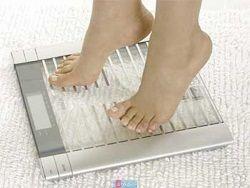 Изменение веса человека происходит ежедневно