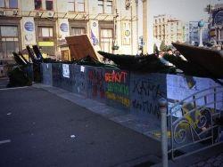 Киевские баррикады: наблюдения за событиями