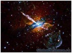 NASA опубликовал рентген-снимок галактики Альфа Центавра