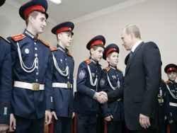 Новость на Newsland: Казаки – передовой слой российских трудящихся?
