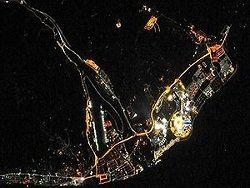 NASA сфотографировало олимпийский Сочи из космоса