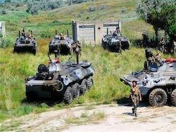 Новость на Newsland: Украинские морпехи в Феодосии укрепляют линии обороны