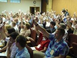 Новость на Newsland: Журналистов не пустили на съезд Партии регионов